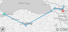 Turkey & Western Georgia (Istanbul To Tbilisi) - 9 destinations