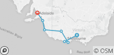 Great Ocean Road West–Melbourne to Adelaide - 7 destinations