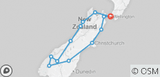New Zealand: South Island Encompassed - 12 destinations