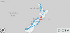 New Zealand Encompassed - 18 destinations