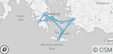 Spotlight on Greece 3 Day Greek Cruise latest 8 days - 12 destinations