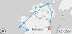 Walking Ireland - Northern Gem - 9 Days - 11 destinations