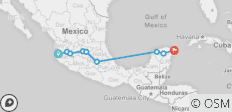Mexico Grande (12 Days) - 9 destinations