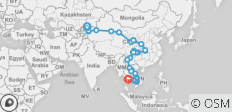 Chinese Silk Route & South East Asia - 68 destinations