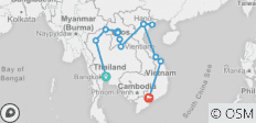 Thailand, Laos & Vietnam Adventure - 13 destinations