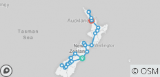 Grand Kiwi (ex. Christchurch) 2018-19 (Kiakoura) - 27 destinations