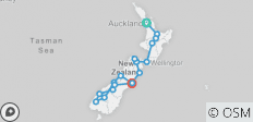 Kiwi Encounter (ex. Auckland) 2018-19 (Te Anau) - 18 destinations