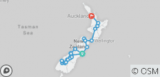 Kiwi Encounter (Ex Christchurch) 2019-20 - 25 destinations
