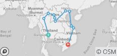 South East Asia Uncovered - 11 destinations