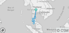 Southern Thailand Trip: 40 Days - Experience the Land of Smiles - 11 destinations