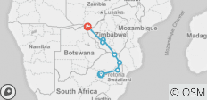 African Insight Northbound - 8 destinations