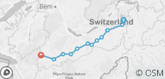 The Alpine Pass Route - 12 destinations
