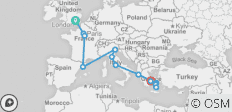 London To Athens Plus Mykonos & Santorini Island Escape 8 Days (28 Days) - 13 destinations