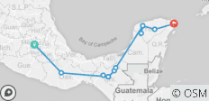 The Routes of Mexico - 12 destinations