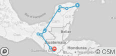 Mexico Guatemala Beautiful - 15 destinations