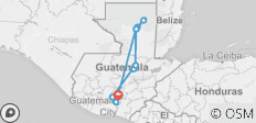 Guatemala Highlight Tours - 11 destinations