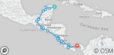 Cancun  Antigua  San Jose  Panama - 33 destinations