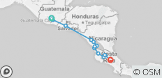 Antigua San Salvador San Jose - 13 destinations