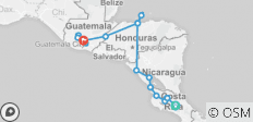 San Jose Roatan Antigua (17 Days) - 19 destinations