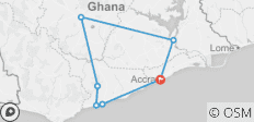 Ghana Cultural Tour - 7 destinations