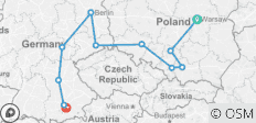 Poland, East Germany & World War II (from Warsaw to Munich) - 11 destinations