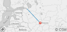 St. Petersburg & Moscow - 2 destinations