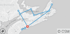 Wonders of the Maritimes & Scenic Cape Breton - 12 destinations