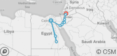 Egypt & Jordan Adventure - 11 destinations
