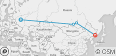 Classic Trans Siberian (Moscow to Vladivostok) - 4 destinations