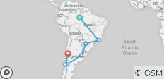 South American Odyssey with Amazon (from Manaus to Santiago) - 8 destinations