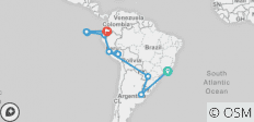 Spirit of South America with Galápagos Cruise - 16 destinations