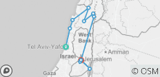 Journey Through the Holy Land - Faith-Based Travel - 12 destinations