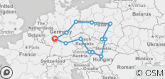 Central Europe - 13 destinations