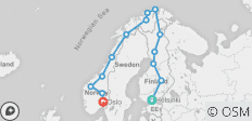 Northern Highlights & the Arctic Circle - 14 destinations