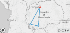 Macedonia Trails - 4 destinations