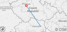 3 Nights Vienna & 3 Nights Prague - 2 destinations