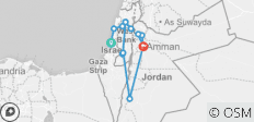 Holy Land Discovery with Jordan - Faith-Based Travel - Catholic Itinerary - 14 destinations