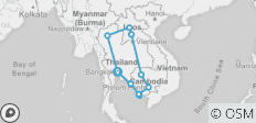 Laos, Thailand, Cambodia Trip: 40 Days - The Ultimate Journey - 11 destinations