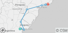 In Search of Iguassu–Buenos Aires to Rio - 9 destinations