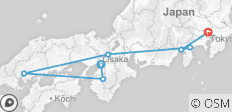 Japan Express – Von Osaka nach Tokio - 7 Destinationen