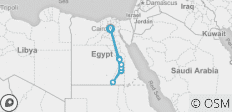 Egypt on a Shoestring (from Giza to Cairo) - 10 destinations