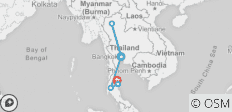 Thailand on a Shoestring - 6 destinations