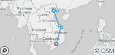 Classic Vietnam Hanoi to Ho Chi Minh City - 9 destinations