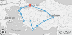Absolute Turkey - 12 destinations