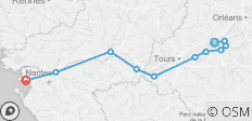 Loire Chambord to Atlantic Challenging - 11 destinations