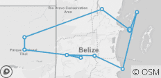Adventures in Belize - 11 destinations