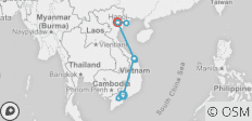 10 Days From the South to the North of Vietnam - 11 destinations