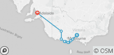 3 Day Great Ocean Road & Grampians Adventure (Mel-Adl) - 10 destinations