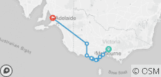 3 Day Great Ocean Road & Grampians Adventure - Melbourne To Adelaide - 10 destinations