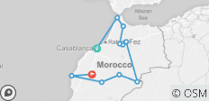 Highlights of Morocco (from Casablanca to Marrakesh) - 11 destinations